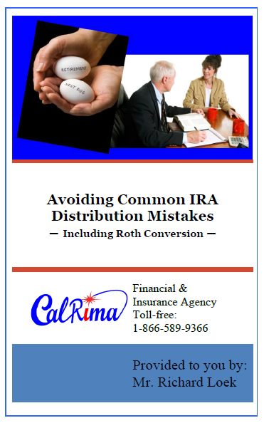 IRA Distribution Mistakes Cover Page