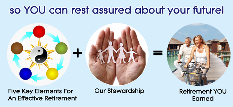Five key elements, stewardship and results